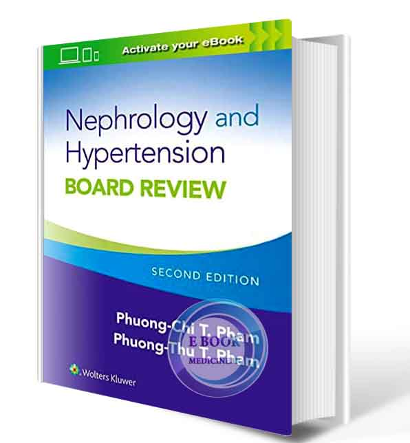 دانلود کتاب  Nephrology and Hypertension Board Review 2021 ( PDF)