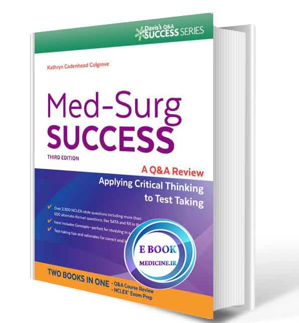 دانلود کتابMed-Surg Success: NCLEX-Style Q&A Review2017(ORIGINAL PDF)