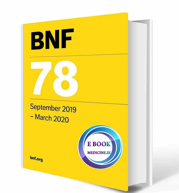 دانلود کتاب BNF 78 - British National Formulary 2019