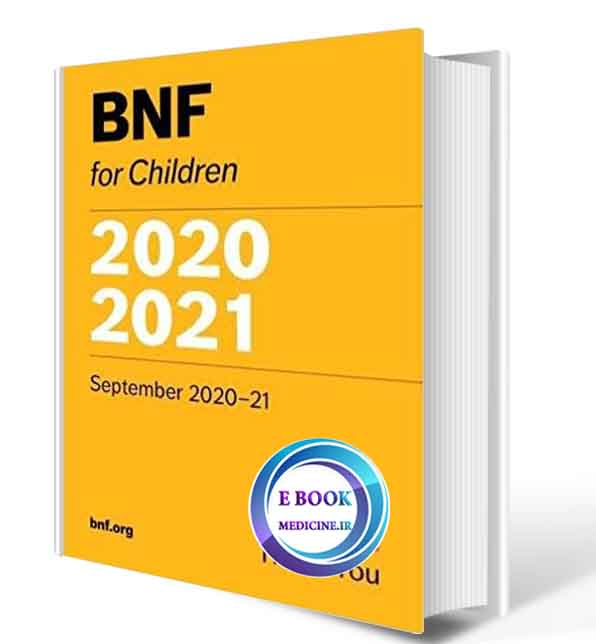 دانلود کتاب BNF for Children 2020-2021( ORIGINAL PDF)