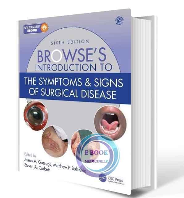 دانلود کتاب Browse's Introduction to the Symptoms & Signs of Surgical Disease 6th  2021(Original PDF)